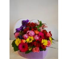Aranjament floral Inima