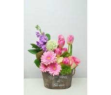 Aranjament floral Pink Spring
