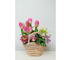 Aranjament floral Primavara Cos