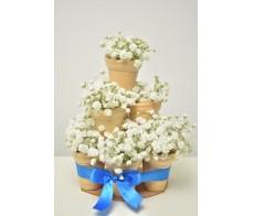 """Aranjament floral """"Sweet cake"""""""