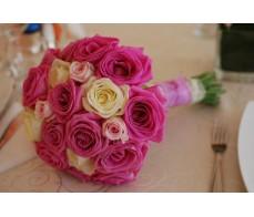 Buchet mireasa Pink